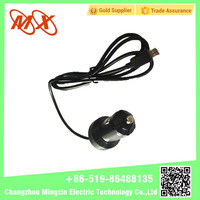 Unique Rolled Black Car Cigarette Lighter Plug with extension cable