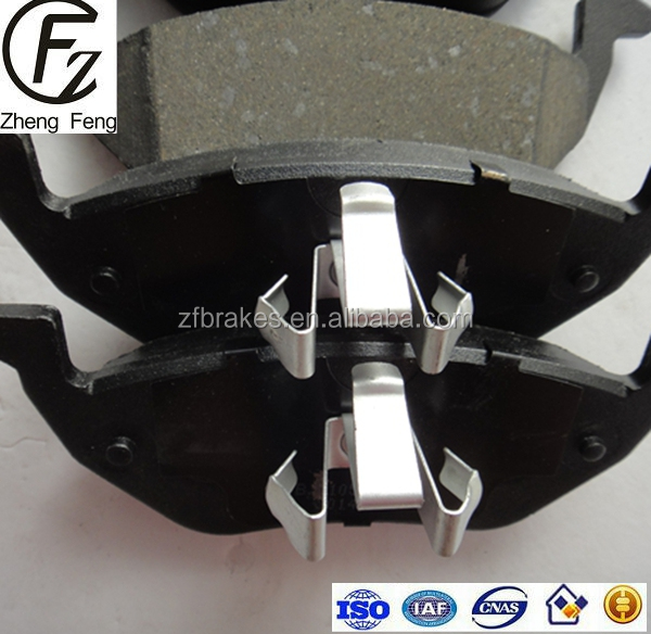 FMSI D1055-7961 non-asbestos Wholesale Less-metal Semi-metal Ceramic NAO Material Brake Pads