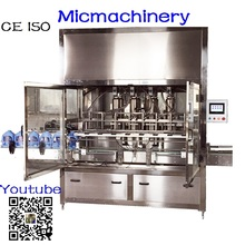 Micmachinery bleach filling machine high accuracy filling machine palm oil filling machine used in chemical industry