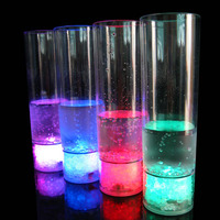 BHN056 Party Product Water Liquid Activated LED Flash Drinking Glass