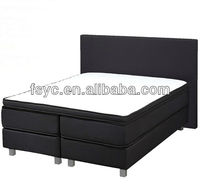 foshan fabric latest desigens boxspring bed (DA-B330)