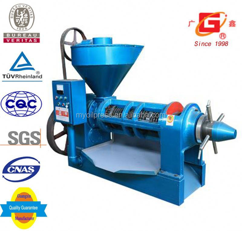 Big processing capacity sacha inchi oi physical screw squeeze big oil making machine