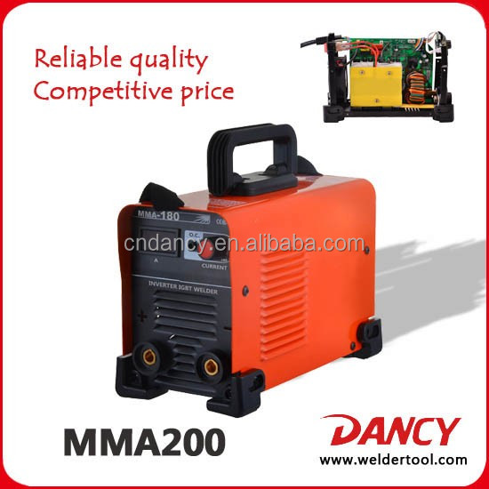 DC Inverter 200AMP Inversor IGBT Portable Mejor Soldador ARC-200 Welding equipment