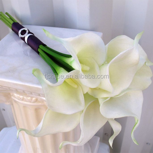 Wholesale Artificial flowers real touch calla lily for wedding decoration