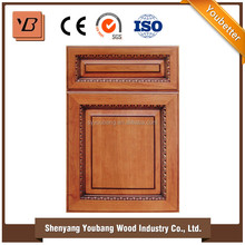 pure nature solid wood modular ready to assemble kitchen cabinets