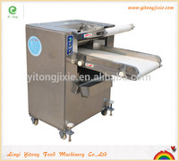 Stainless steel pizza bread sheeter machine flour tortilla press in Shandong