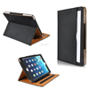 Tablet case For ipad air ipad 5 Black Tan Cases For Ipad case Pu leather smart stand cover with sleep wake