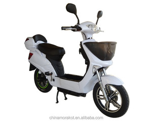 Pedal Assist Electric Scooter Bike Baskets Moped Electric Vehicles For Sale