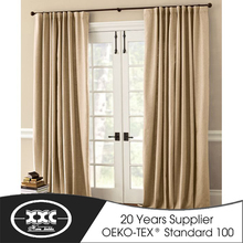 Factory price double layer window curtain manufacturer manufactured in China
