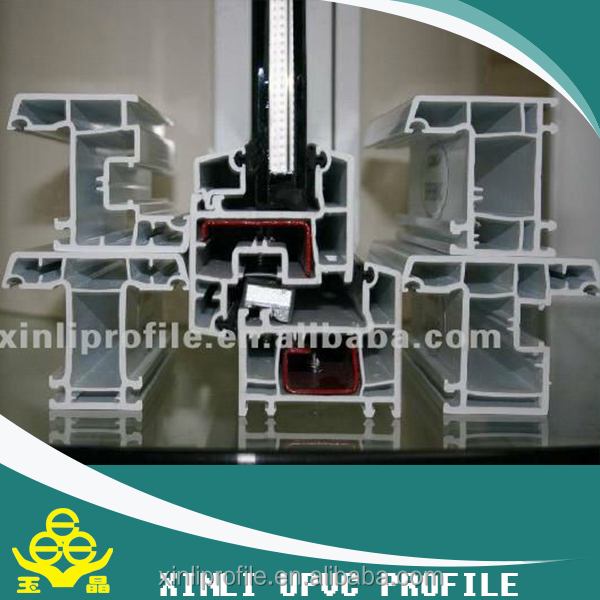 Chinese factory wholesale germany upvc profile for window and door