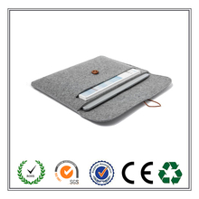 cheap!!! 4 colros felt laptop case with button made in China