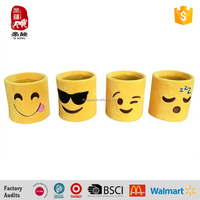 new 2016 plush emoji cup holder, hot emoji cup