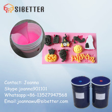 Food Grade RTV 2 Silicone Rubber for Cake Molding
