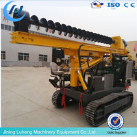 truck mounted Excavator Mounted Hydraulic static Vibro Hammer/Vibratory Sheet Pile Driver