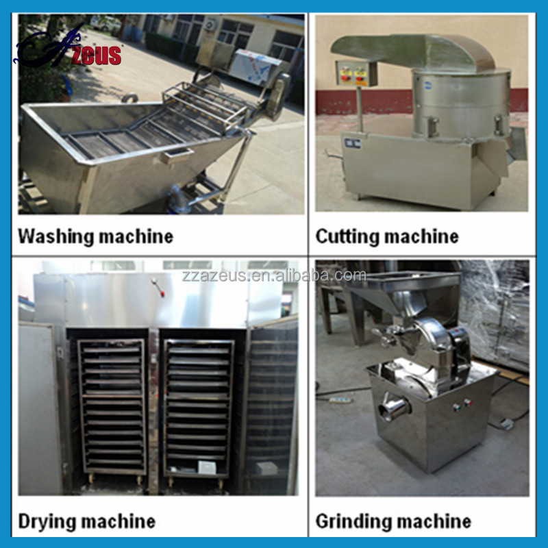 commercial dried garlic making machine/garlic powder processing machine/ginger dehydration machine
