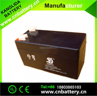 12v1.3ah rechargeable deep cycle storage lead acid batteries