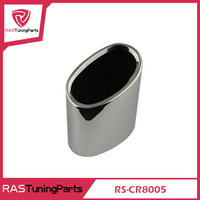 304 Stainless Steel Exhaust Muffler Tip Stainless Steel Pipe For BM.W 2008-2013 318 E90/F35/F30