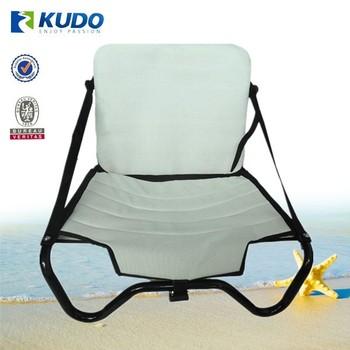 Multi purpose aluminum folding fishing seats for kayaks for Kayak fishing seats