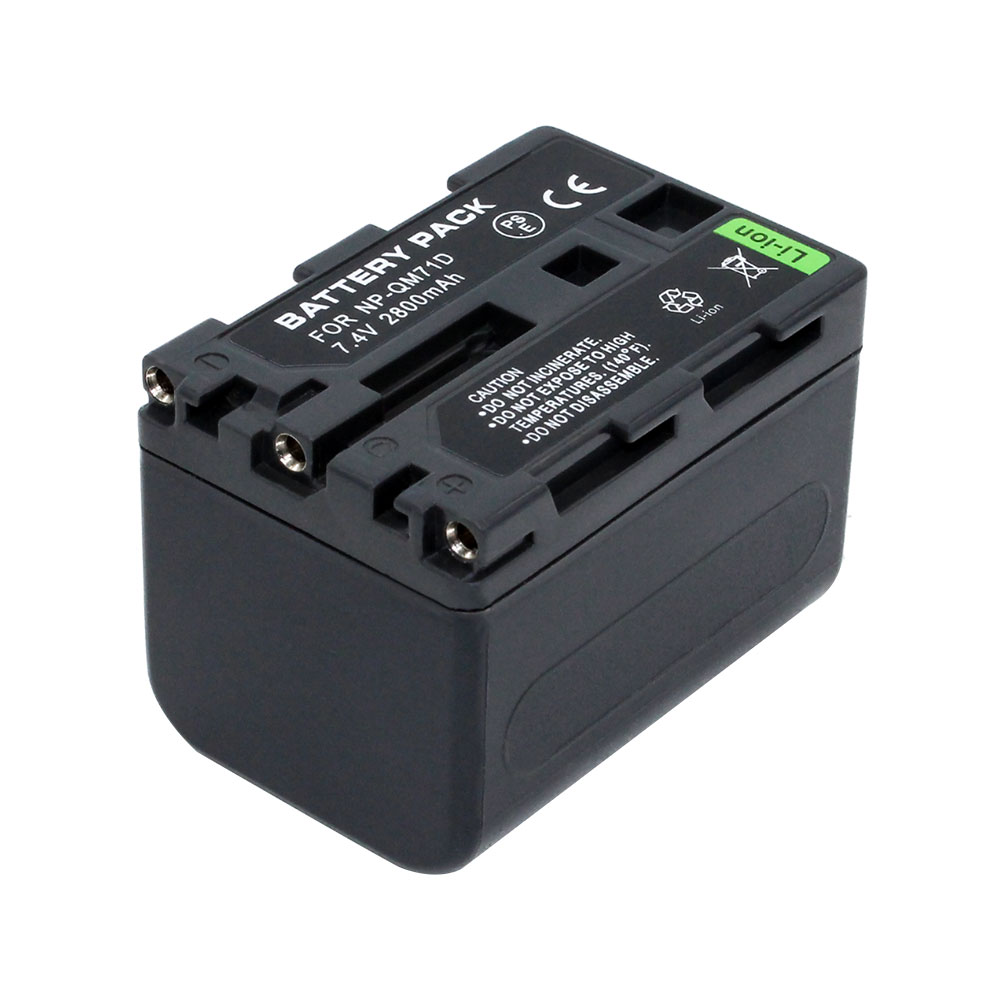 For Sony NP-FM70 NPFM70 NP-QM71 NPQM71 Li-ion Rechargeable Camcorder Battery