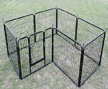 trade assurance eight panels outdoor metal wire puppy pet playpen