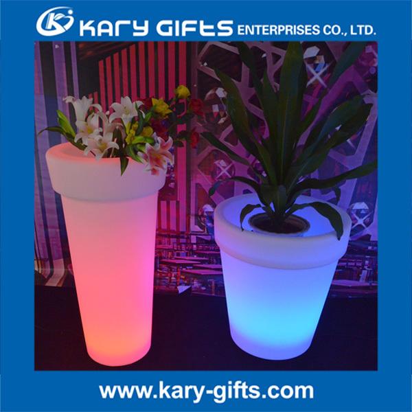 waterproof glow garden led flower pots buy led flower