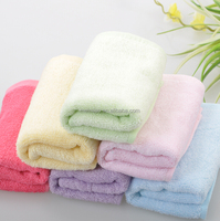 very soft feeling eco-friendly baby bamboo face towel MM-BT02