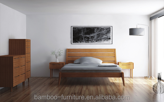 Sienna Bedroom Collection Modern Bedroom Furniture Simple Bamboo Furniture
