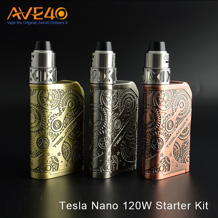 2017 Newest Tesla Nano 120W starter kit with competitive price
