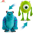Large Sulley and Mike Wazowski Reversible Plush Toys