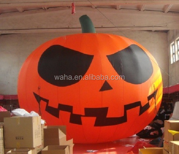 Advertising/promotional/outdoor inflatable pumpkin balloon W126