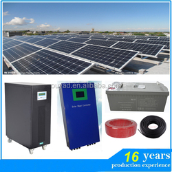 15000w home use 15kw off grid solar power system/15000w solar home system/price per watt solar panels in india
