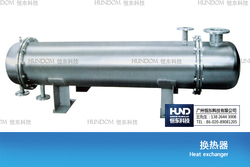 Stainless steel shell tube heat exchanger