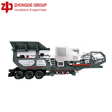 Hot selling! Small mobile stone crusher plant / Mini mobile crushing station