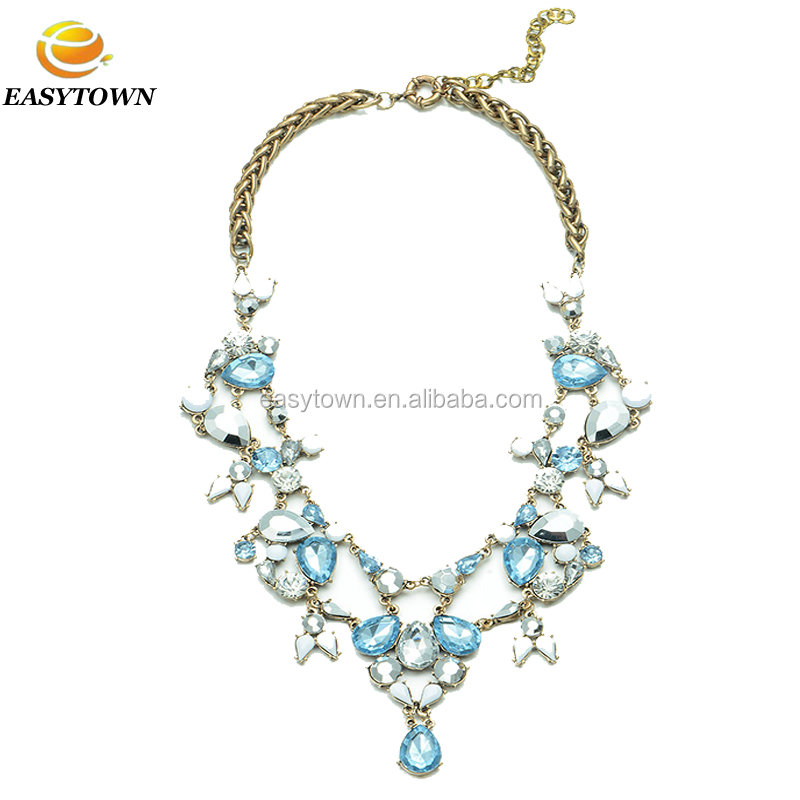 wholesale fashion jewelry pendant statement necklace for