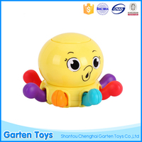 Cute style octopus baby rattles toy for infant