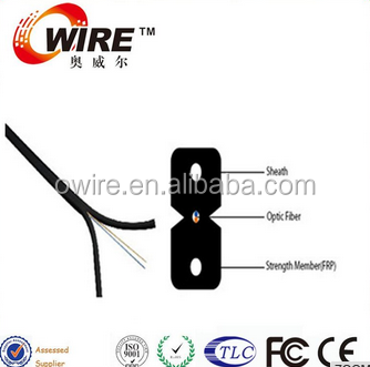 2 core indoor ftth fiber optic drop wire cable,indoor cable FTTH optic fiber