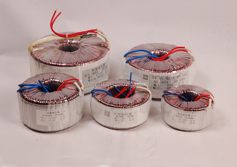 Toroidal (Ring)Transformer 50W-5000W for Halogen Lamp,Halogen quartz lamp toroidal transformers,Lighting toroidal transformer
