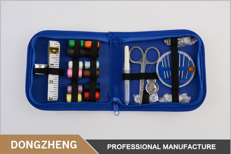 New practical professional cheap mini size travel sewing kit with oxford pounch