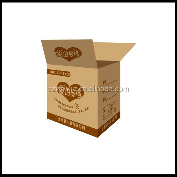 Big size large volume heavy load electronic cardboard box/package