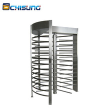 Heavy Duty Automatic Security Full Height Entrance Turnstile