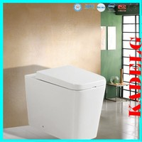 HOMEBASE Verda Back to Wall Toilet inc Cistern 2370B