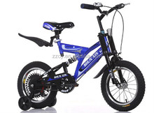 "2015 New model 16"" full suspension MTB children mountain bike"