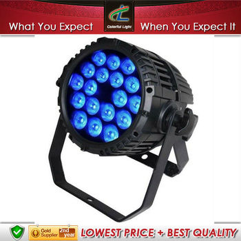 Colorful Light 18x8W RGBW( 4in1) outdoor led par light