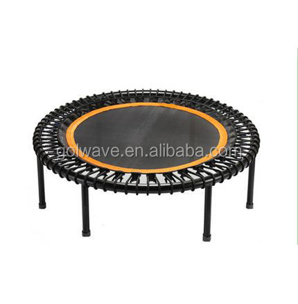 Round fitness mini gymnastics trampoline for kinds,Indoor bungee cord trampoline,40inch mini bungee trampoline