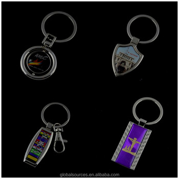 cheapest keychain epoxy metal keyring