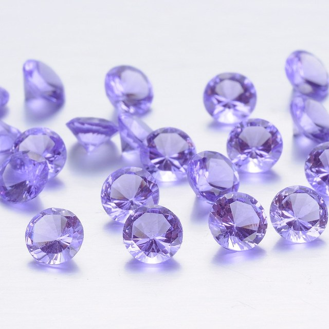 Hot selling wholesale cheap custom glass crystal diamond
