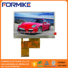 4.3 inch 480x272 rgb 40 pin tft lcd module high luminance capacitive touch screen display