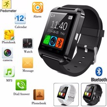 Hot sale U8 New Bluetooth Smart Watch U Smart Watch Altimeter Barometer For IPhone 4/5S/6 Android Phone Smart Phones watch