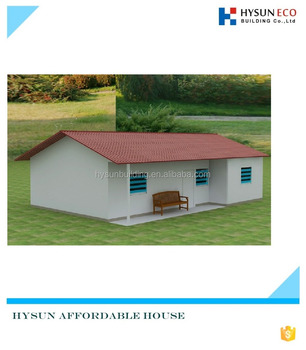 Affordable House for sale office resort hotel prefab house low cost house temporary dwelling