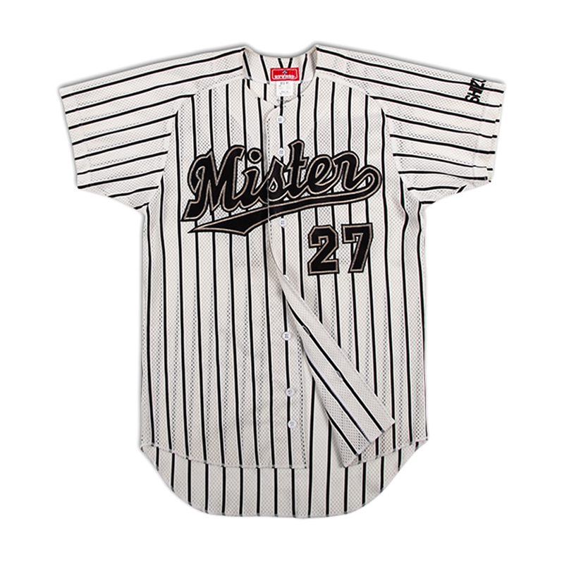 Sublimated 100% polyester blank baseball jerseys